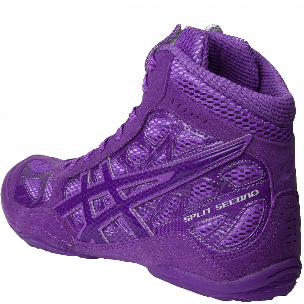 ASICS SS9 TIGERSHOCK WRESTLING SHOES GRAPE ELECTRIC PURPLE… | Flickr