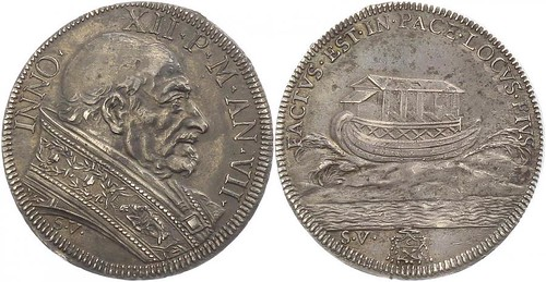 Half Piastra AN VII (1697-98)  Rome | by Numismatic Bibliomania Society