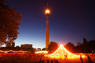 Florianturm during Lichterfest | by kirberich