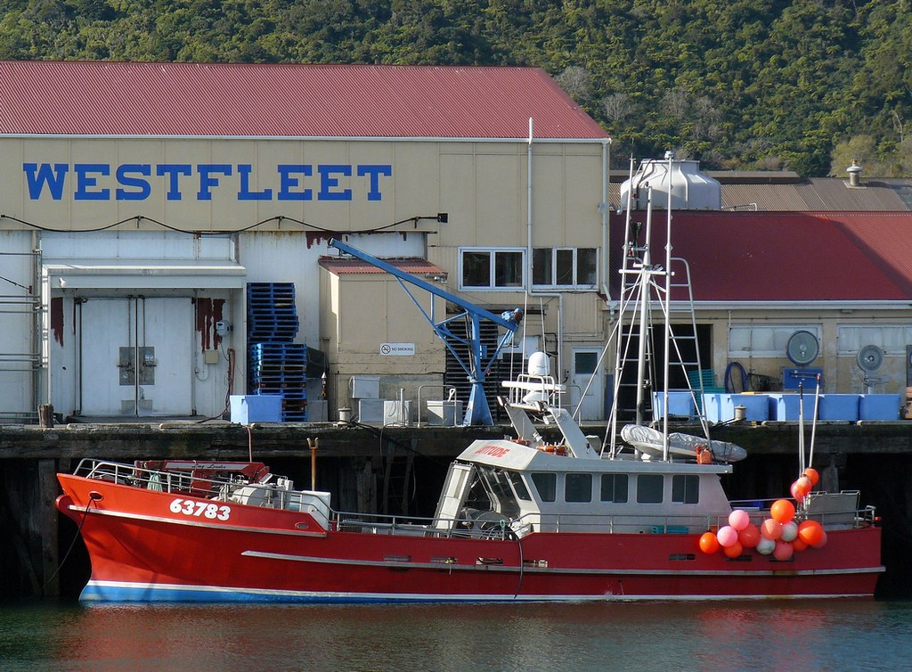 Latitude At Greymouth Fishing Vessel Latitude In Port At G Flickr - Latitude of nz