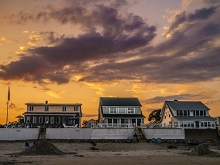 Beach Houses, Wells Beach Maine | by mickle229