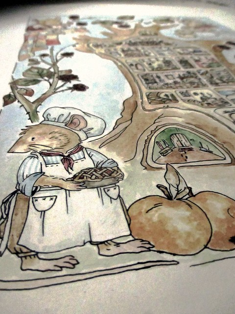 Hedgefairy: Brambly Hedge Tribute - Detail: Piemaker finished