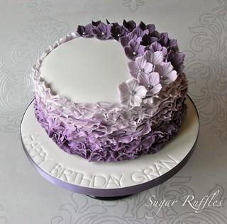 Happy Birthday Cake Frill