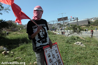Palestinian Prisoners Day, in front of Ofer military prison, 17.04.2012 | by Activestills