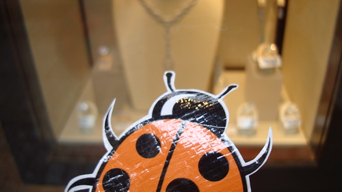 The ftt ladybird is curious about the 'blood diamond' trade. | by followthethings.com