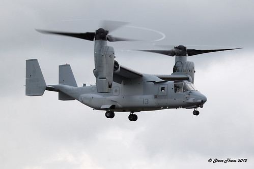 Bell Boeing MV-22B Osprey, RIAT 2012 | by Mr T'