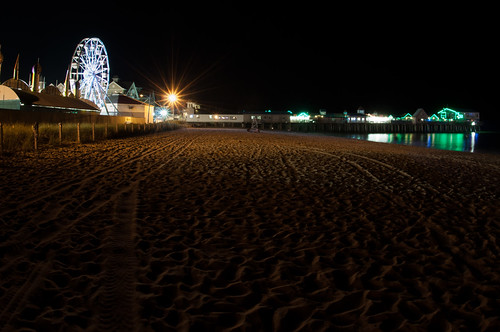 Old Orchard Beach Pier at Night | by Adam's Attempt (at a good photo)