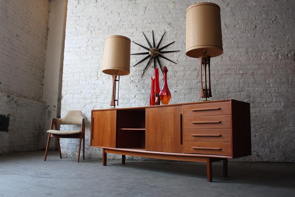 Dyrlund Danish Credenza : Astounding danish mid century modern dyrlund teak credenzau2026 flickr