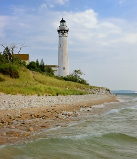 South Manitou Island Lighthouse Sleeping Bear Dunes National Lakeshore | by Michigan Nut
