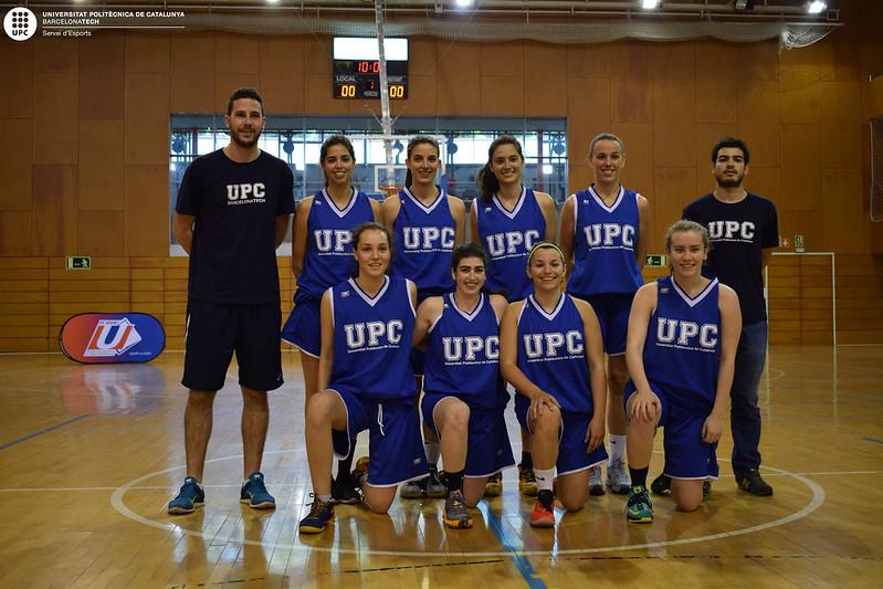 Encontre esportiu UPC - Toulouse 2016