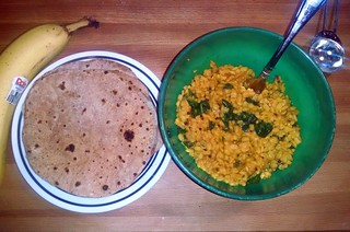 mung daal and roti | by the_caity_cat