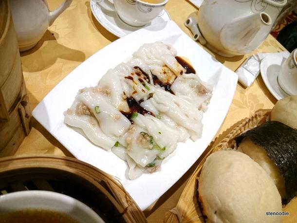 Steamed Shrimp Rice Rolls