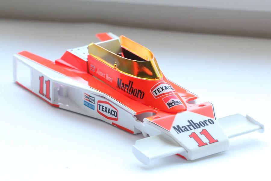 mclaren m23 1976 tamiya 1:20 james hunt world champion | flickr