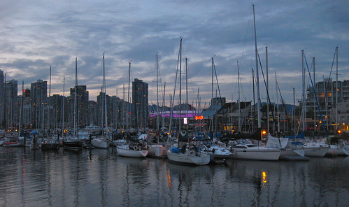 Stamps Landing, False Creek at Dusk | by ddrucker