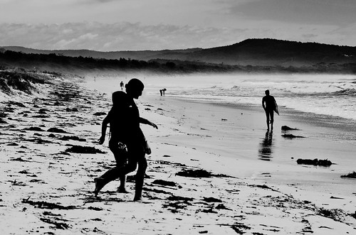 walking on the beach 2 | by john@aus
