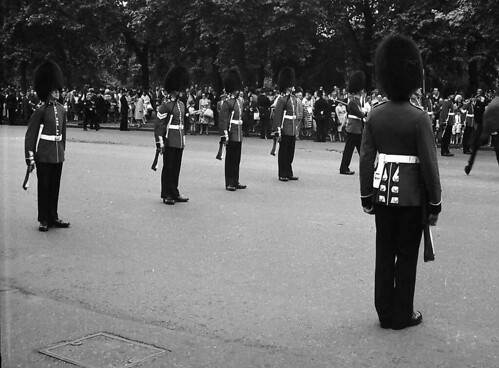 Scots Guards, Trooping the Colour 1966 | by quhitcorse