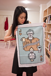 Flight of the Conchords tea towel | by hyteng