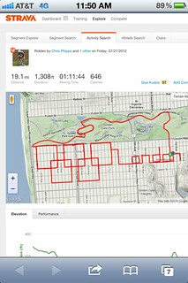 Strava Olympic rings | by rort