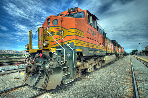 BNSF Locomotive HDR (3) | by Phil Ostroff