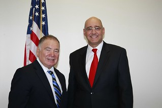 Ambassador Raul Yzaguirre and Dr. Montoya | by Miami Dade College