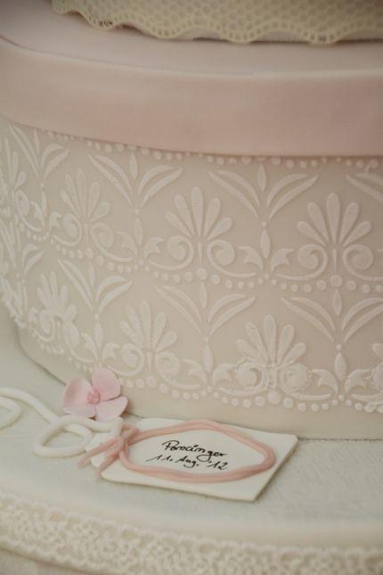 V Hochzeitstorte Vintage Hutschachteln Shabby Chic Anhange Flickr