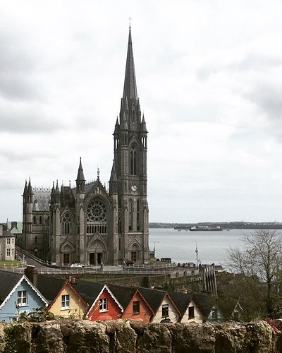 St. Colman's Cathedral in Cobh. The city was the last port of call before the Titanic set sail. The remembrance Mass for those who died onboard was held in this church.