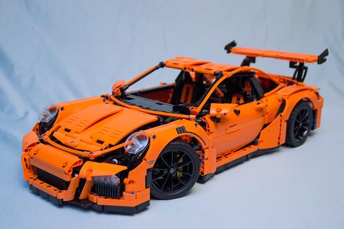 42056 lego technic porsche 911 gt3 rs box 4 finished wit. Black Bedroom Furniture Sets. Home Design Ideas