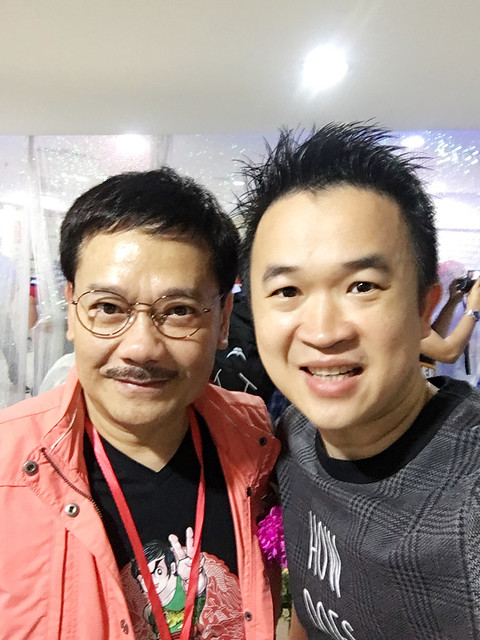 Jit and Tony Wong in Asia Comic Cultural Museum