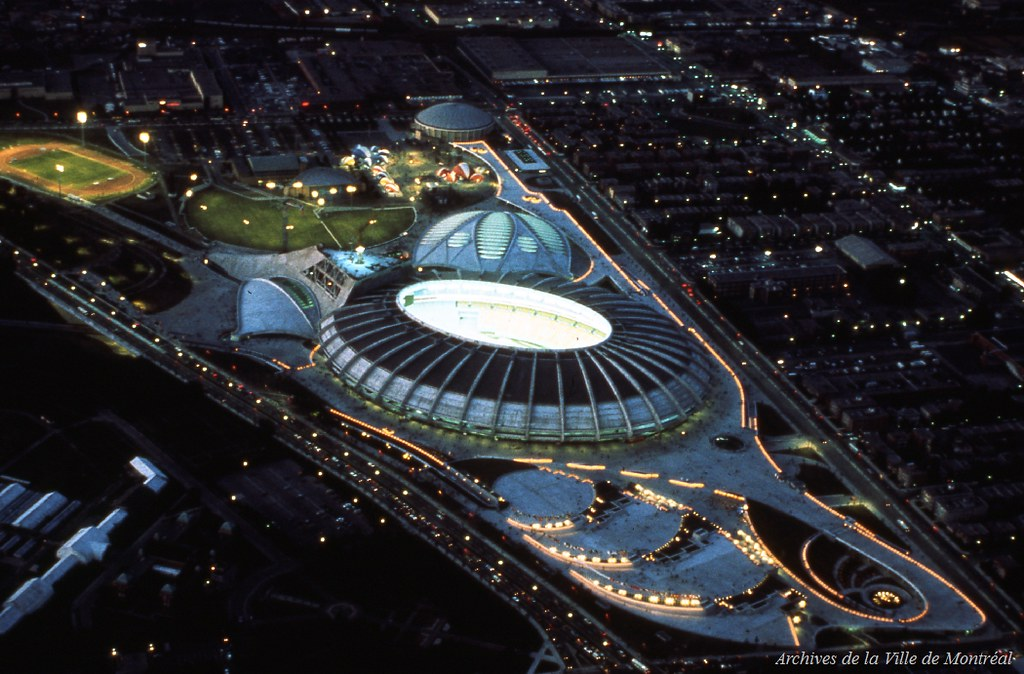 Canadian skylines of the past page 117 skyscraperpage for Club de natation piscine parc olympique