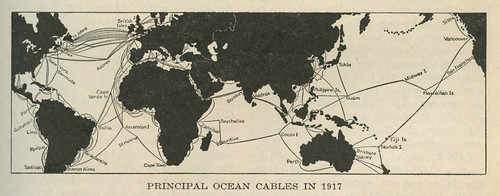 Principal Ocean Cables in 1917 | by Eric Fischer