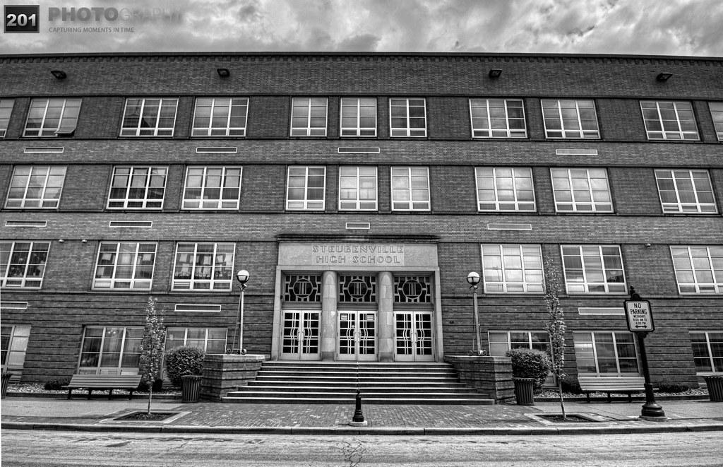 Steubenville High School Front...