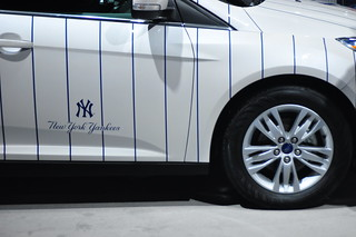2012 Ford Focus SEL Hatchback New York Yankees Edition | by Triborough
