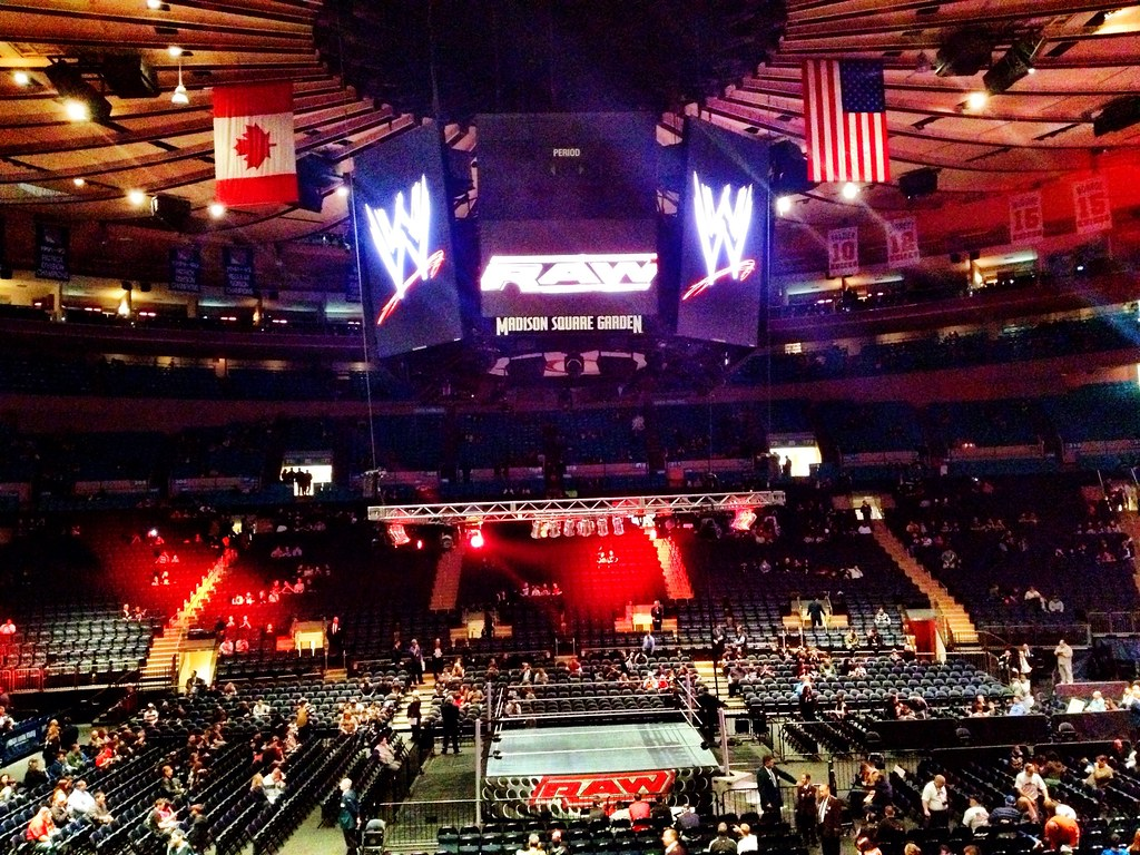 ... WWE @ Madison Square Garden | By Davekonig