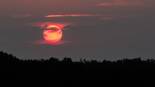 Red Sunset 6/21/12 | by mvos18