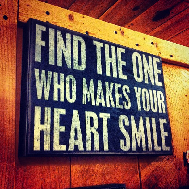 Find The One Who Makes Your Heart Smile Cliff Huizenga Flickr