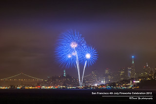 San Francisco 4th July Fireworks Celebration 2012 | by davidyuweb