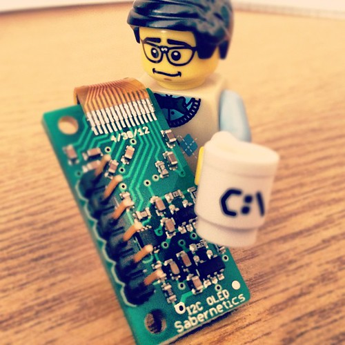 LEGO geek with OLED i2c module | by andyp uk