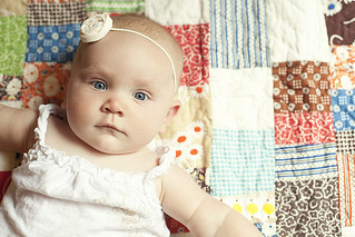 Claire, 7 months old | by sarawiety