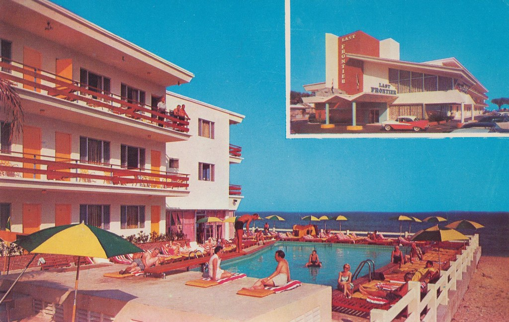 Last Frontier Resort Motel - Miami Beach, Florida