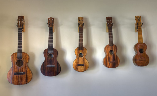 Ukulele wall | by minipixel