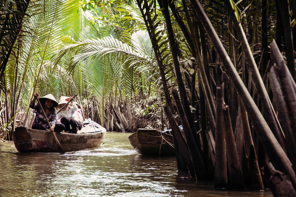 The Mekong Delta | Floating down the Mekong delta, Vietnam