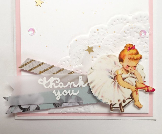 Ballet and preschool thank you cards