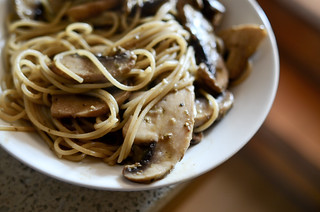 Easy Mushroom Pasta at Home - April 1st 2012 | by The Hungry Cyclist