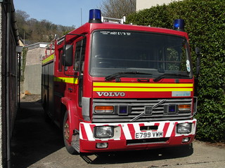 North Wales Fire and Rescue Volvo FL 614 Supercharged Pumping Appliance  E799 VWM | by North Wales Fire and Rescue