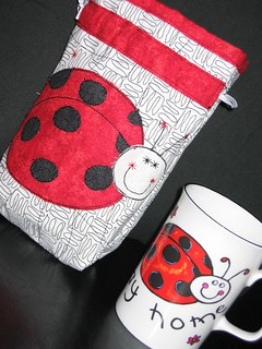 Ladybird pouch | by tubakk-quilt