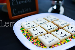 Element cookies for science themed party | by ElizabethSigns