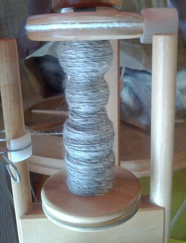 I spun today | by byneedleandthread