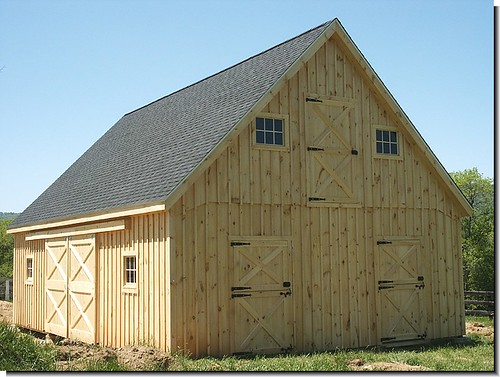 Building A Horse Barn After Building A Horse Barn You