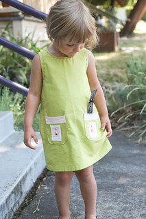amelie inspired gnome dress | by supergail