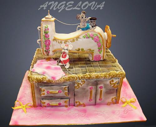 Sewing Machine Cake Images